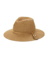Collection 18 Tassel Accented Panama Hat Natural