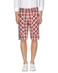 Jeckerson Trousers Bermuda Shorts Men Red