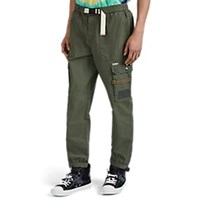 Ovadia And Sons Belted Cotton Ripstop Cargo Pants Olive