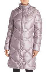 The North Face Women's 'Miss Metro' Hooded Parka Quail Grey