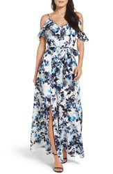 Eliza J Women's Cold Shoulder Maxi Dress