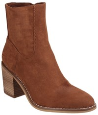 Rocket Dog Dannis Zip Up Ankle Boots Cinnamon