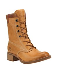 Timberland Whittemore Leather Lace Up Boots Camel