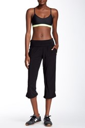 Candc California Foldover Gypsy Pant Black