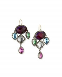 Larkspur And Hawk Sadie Girandole Earrings Crazy Quilt
