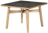 Barlow Tyrie Monterey Square Dining Table Oxide 805 Ceramic Gray