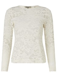 Alice By Temperley Somerset By Alice Temperley Lace Stretch Top Cream