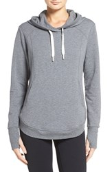 Zella Women's En Route Hoodie Grey Dark Heather