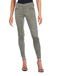 Saks Fifth Avenue Paneled Ankle Length Pants Juniper