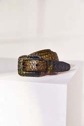 Urban Outfitters Snake Belt Brown
