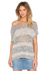 Inhabit Short Sleeve Pullover Gray