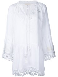 Anjuna Eva Cover Up Women Cotton S White
