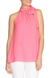 Women's Cece By Cynthia Steffe Halter Style Bow Neck Blouse