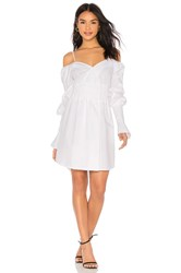 Elliatt Moonlight Shirt Dress White