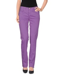 Carlo Chionna Casual Pants Purple