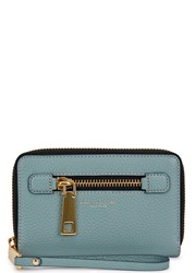 Marc Jacobs Gotham Teal Green Leather Wallet