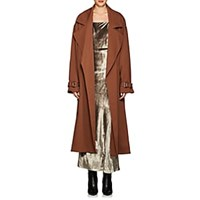 Nomia Crepe Oversized Trench Coat Lt. Brown Lt.Brown