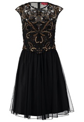 Derhy Repos Cocktail Dress Party Dress Noir Black