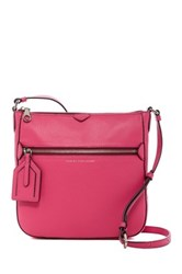 Marc By Marc Jacobs Leather Globetrotter Kit Calley Crossbody Pink