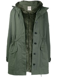 Zadig And Voltaire Hooded Parka Green