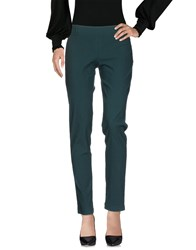 Liviana Conti Casual Pants Dark Green