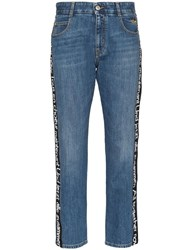 Stella Mccartney All Together Now Straight Leg Jeans Blue