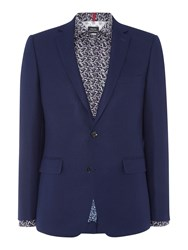Simon Carter Sb2 Texture Slim Fit Jacket Navy
