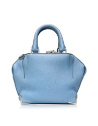 Alexander Wang Mini Emilie Atlas Soft Pebbled Leather Tote Light Blue