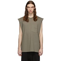 Song For The Mute Taupe Rug Sleeveless T Shirt