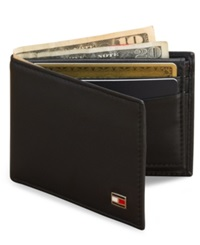 Tommy Hilfiger Oxford Slim Bifold Wallet Black
