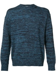 Tomorrowland Crewneck Sweatshirt Men Cotton Polyurethane L Blue