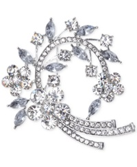 Jones New York Arched Clusters Pin Crystal