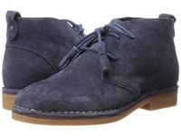 Hush Puppies Cyra Catelyn Navy Suede Women's Lace Up Casual Shoes Blue