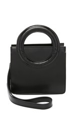 Opening Ceremony Mini Lynx Cross Body Bag Black