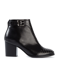 Thakoon Addition 'Magdalena' Ankle Boots Black