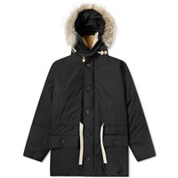Nigel Cabourn Authentic Cameraman Fishtail Parka Green