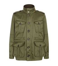 Burberry Military Pocket Parka Male Green