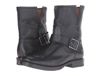 Frye Natalie Short Engineer Black Women's Boots