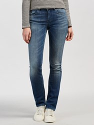 Maison Scotch Supreme Mid Rise Straight Jeans Head And Hooks