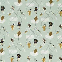 Ferm Living Kite Wallpaper Sample Swatch