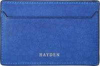 Hayden Slim Card Case Blue