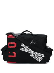 Dsquared2 Printed Holdall Black