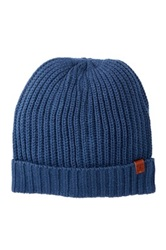 Bickley Mitchell Acrylic And Wool Beanie Blue