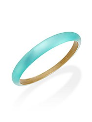 Alexis Bittar Lucite Tapered Bangle Bracelet Mint Green