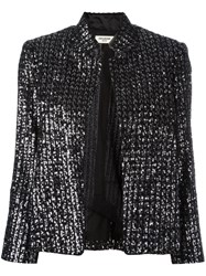 Zadig And Voltaire Beaded Detail Jacket Black