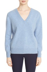 Victoria Beckham Women's Double V Neck Felted Lambswool Sweater