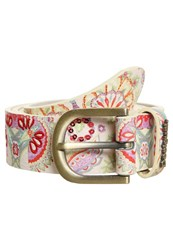 Desigual Valkiria Belt Crudo Shiny Multicoloured