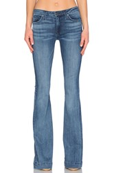 Hudson Jeans Ferris Mid Rise Flare Mission Control