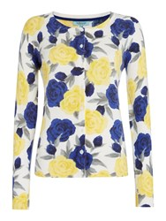 Dickins And Jones Floral Print Cardigan Multi Coloured