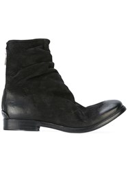 The Last Conspiracy Zip Up Boots Black
